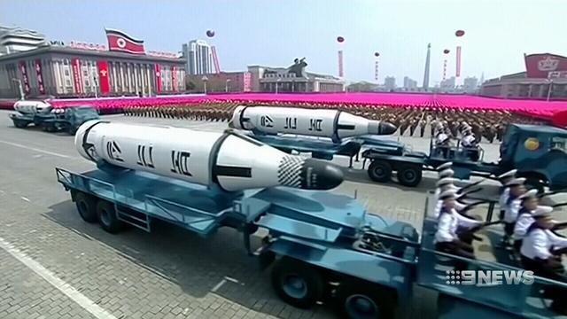 North Korean missile reportedly on the move