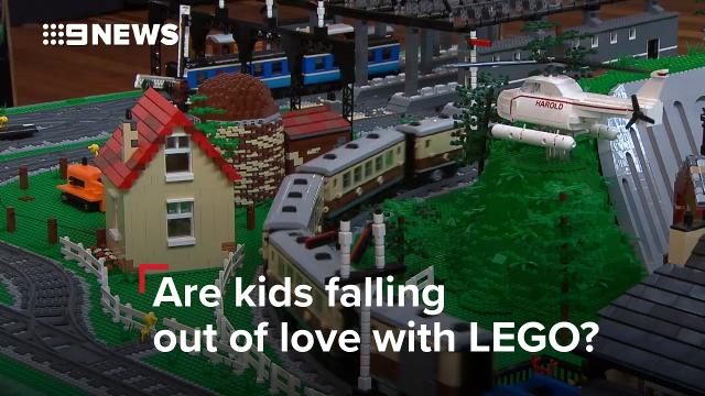 Lego to cut 1400 jobs as sales and profits fall