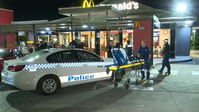 McDonalds Manager Rushed To Hospital After Axe Attack In Sydney