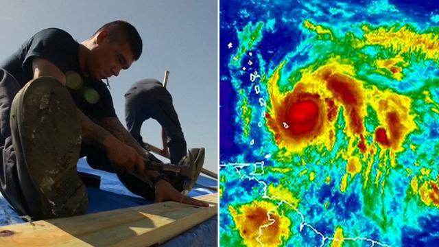 Hurricane Maria to make landfall, threatens to pummel Puerto Rico