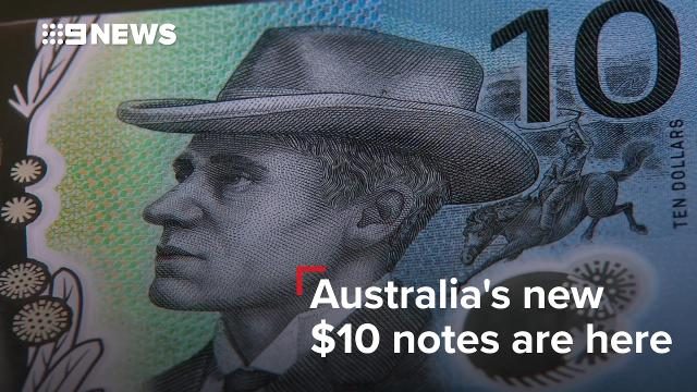 Australia's new $10 notes are here