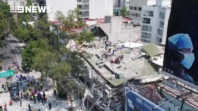 At least 119 dead in 'nightmare' Mexico City quake