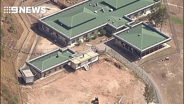 Inmates on roof at youth detention centre
