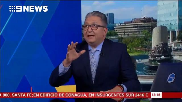 'You know what to do': Anchor stops live cross as quake rocks Mexico