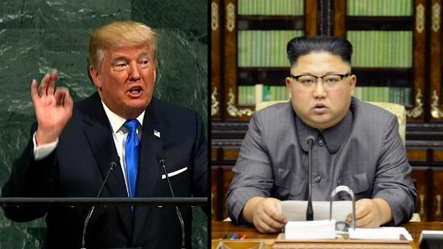 US demonstrates military might off North Korean coast