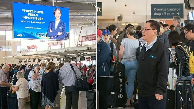 Technical outage causes huge delays at Sydney Airport